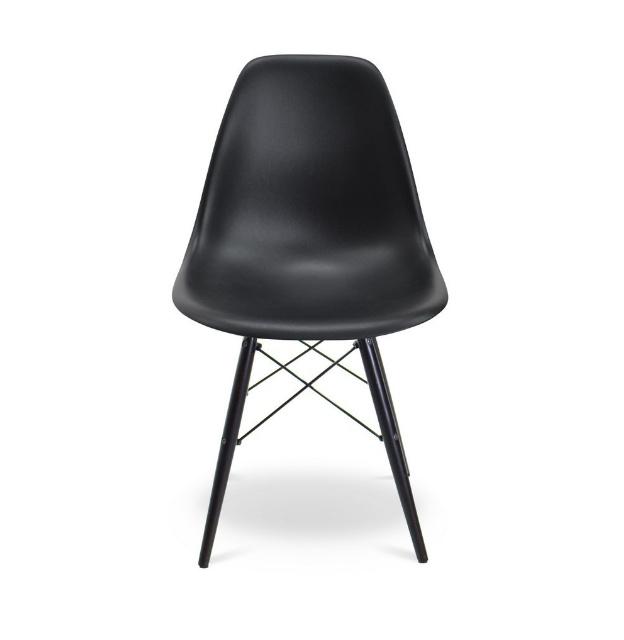 Eames Rar Schommelstoel Zwart.Eetkamerstoel Zwart Dsw Eames Kuipstoel