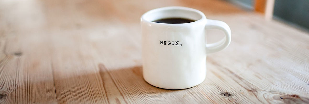begin koffiemok