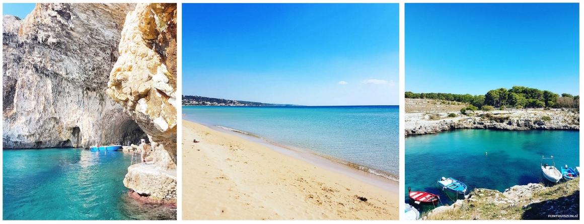 Stranden en baaien Puglia