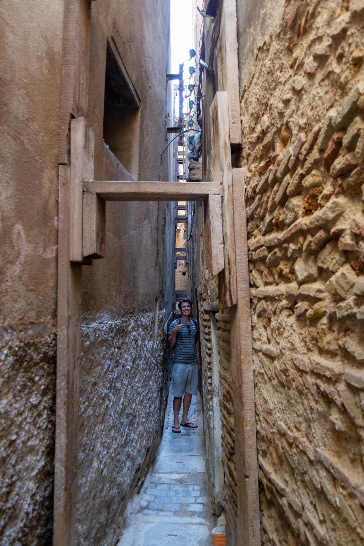 De smalste straat medina Fès