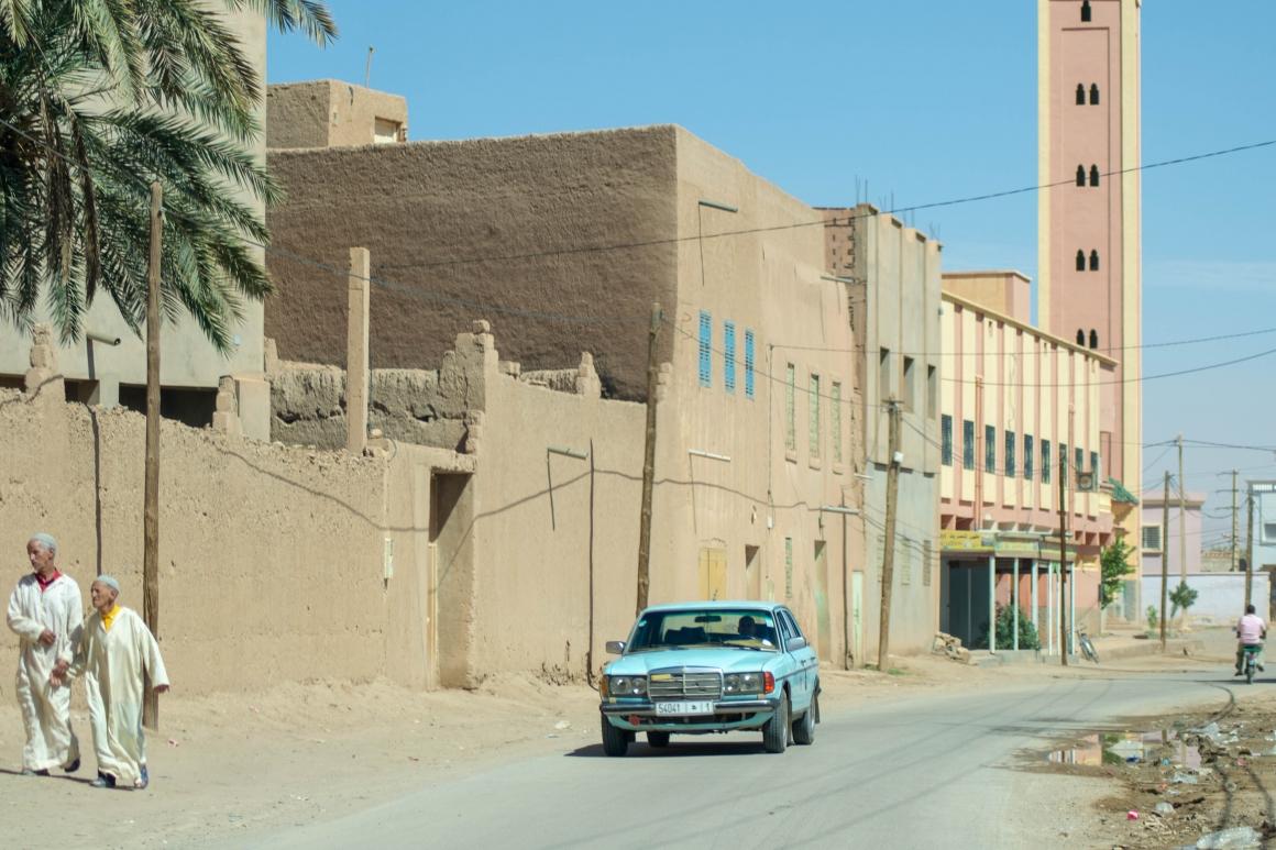 Dorpje oost Marokko