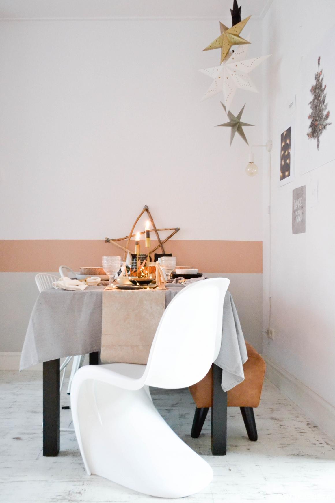 Kerst tafel eethoek