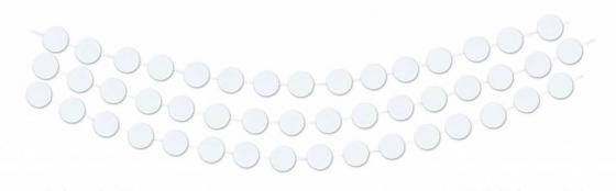 garland witte cirkels