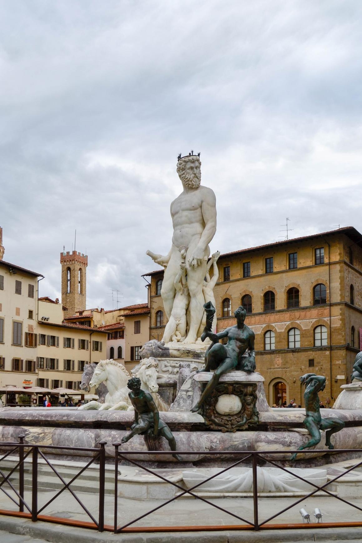 Piazza della Signoria Neptunus
