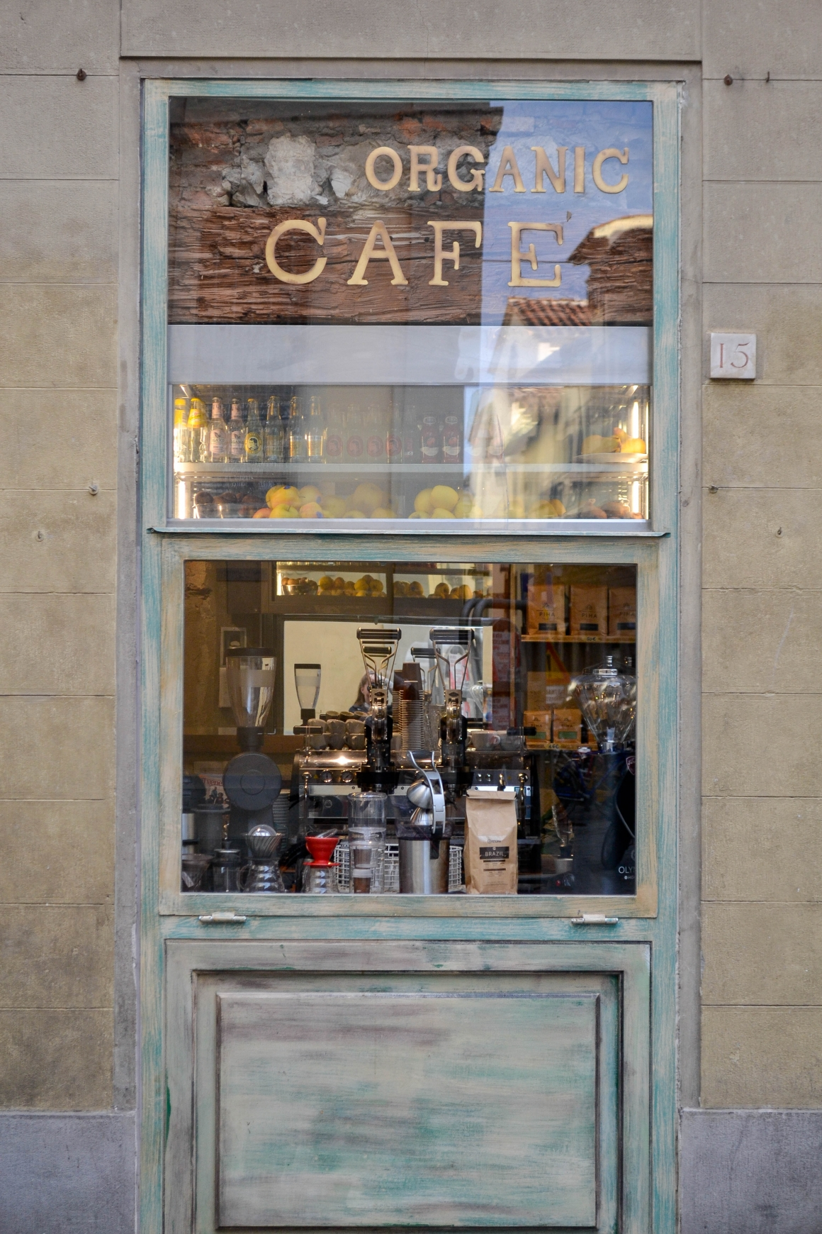 koffie restaurant SimBIOsi Florence hotspot