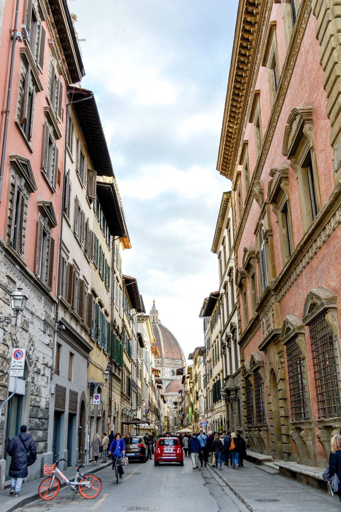 Straat in Florence