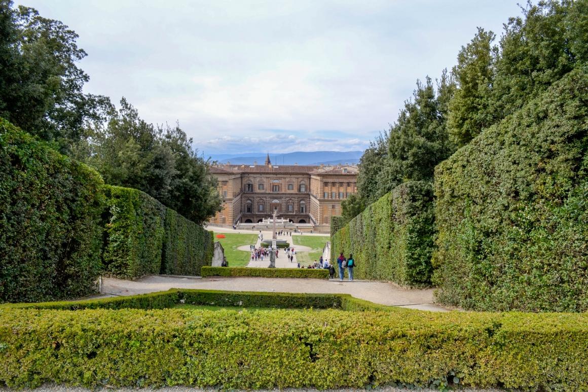 Palazzo Pitti Boboli Gardens