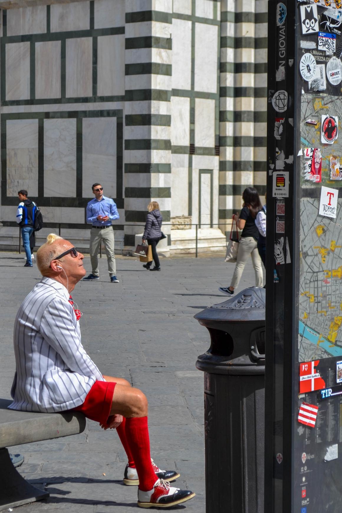 Italian man Duomo