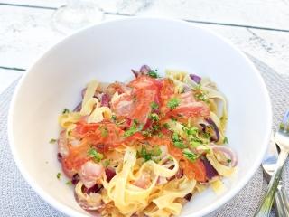 recept pasta carbonara gerecht