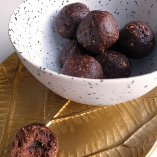 gezonde vega paleo chocolade snack recept