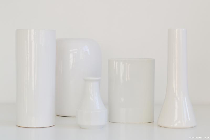witte vazen pimpen