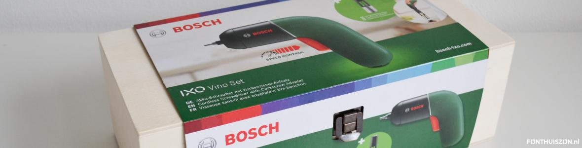 Bosch Home & Garden IXO Vino